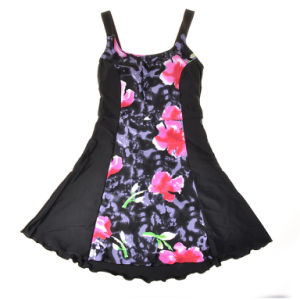 One-Piece Print High Quality Swimwear Skirt