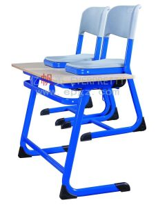 Quality Indian Wood Double Desk Designs for School pictures & photos