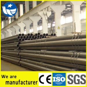 En S235jr S235jo S235j2 Black Steel Pipe pictures & photos
