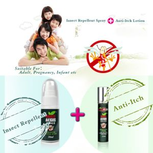High Quality Essential Oil Ingredient Mosquito Repellent with Pump Spay From China pictures & photos