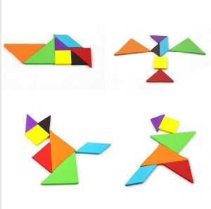 Educational Toy Jigsaw Puzzles Plastic Tangrams Puzzle Toy pictures & photos