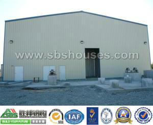 Low Cost Prefab Light Steel Workshop pictures & photos