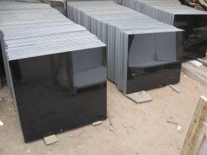 Black Granite Mongolia Black pictures & photos