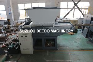 PP PE Large Lump Low Speed Drum Shredder pictures & photos