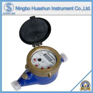 Multi Jet Liquid Sealed Brass Water Meter pictures & photos