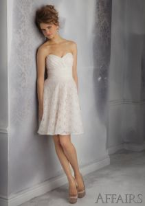 Discount Lace Bridesmaid Fashion Dresses (FD14006) pictures & photos