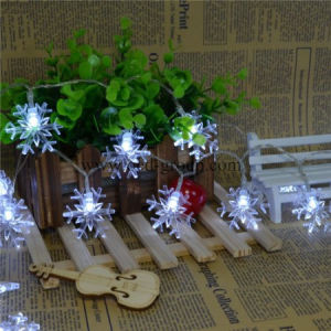 Hot-Selling LED Snowflake String Light, LED Decorative Lamp From Chinese Factory pictures & photos