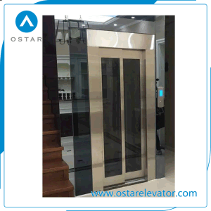 630kg 0.75m/S Glass Lift Cabin Passenger Elevator Price pictures & photos