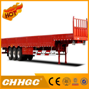 3axle Cargo/Fence Semi-Trailer with Flat Type pictures & photos