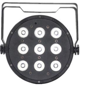 Factory Price LED Plastic PAR Light 9*10W RGBW Indoor DJ Lighting pictures & photos