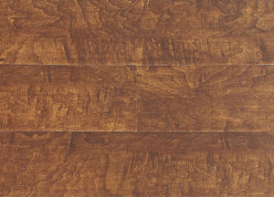 Maple Handscraped Wave HDF Laminated Floor pictures & photos