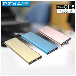 Model Pzx-C118 Power Bank 11200mAh High Quality for Phone pictures & photos