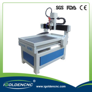 Mini Engraving Machine 6090 4 Axis CNC Router pictures & photos