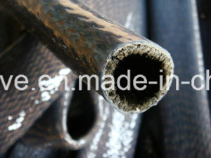 Fire Sleeve Basalt Fiber Silicone Coated Sleeve pictures & photos