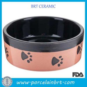Pink Dog Foot Decal Pet Accesories Dog Bowl pictures & photos