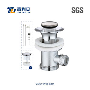 Mechanical Pop up Lavatory Drain (T1041) pictures & photos