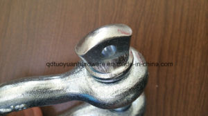 China Manufacturer Us Type Drop Forged Bow Shackle Marine Hardware pictures & photos