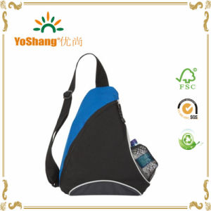 Custom Printed Backpack Laptop Triangle Shaped Backpack pictures & photos
