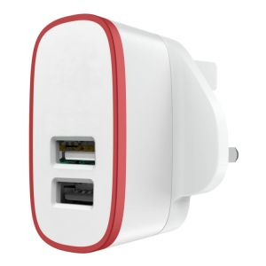 Dual USB Indoor Quick Charger for Home and Travel pictures & photos