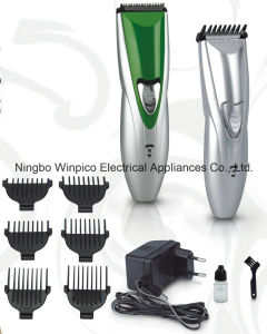 Rechargeable DC Motor Hair Clipper pictures & photos