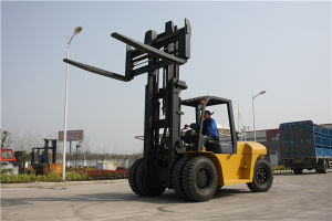 10 Ton Capacity Diesel Forklift with Japan Isuzu Engine pictures & photos