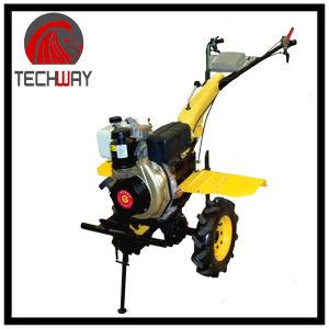 9.0HP Gear Driving Diesel Tiller (TWDT1100B) pictures & photos