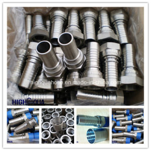 Bsp Jic NPT Thread Carbon Steel Hydraulic Hose Fitting pictures & photos
