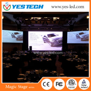 High Brightness P3.9 Full Color Advertising LED Back Stage Screen pictures & photos