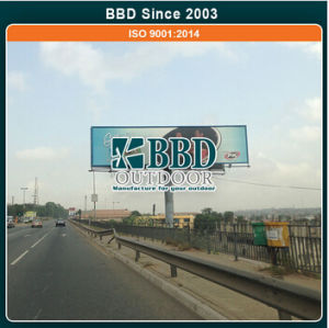 Hot DIP Galvanized Steel Material Outdoor Super Advertising Rotating Sign