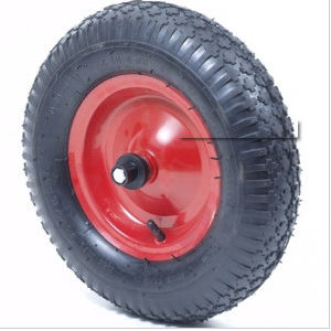 European Design Rubber Wheel for Wheel Barrow (4.00-8) pictures & photos
