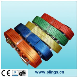 2017 100% Polyester Logistic Straps with Double J Hook pictures & photos