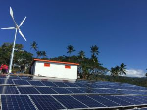 High Output Efficiency Solar Wind Energy off Grid System Supply Power for Island, Farm etc. pictures & photos