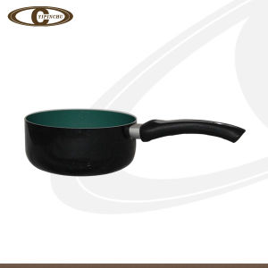 Ceramic Sauce Pan with Black Extrior Coating