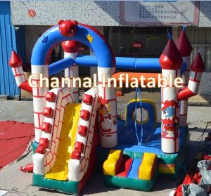 Inflatable Teddy Bear Bouncy Castle/ Inflatable Bouncer with Slide Combo (JW0409) pictures & photos