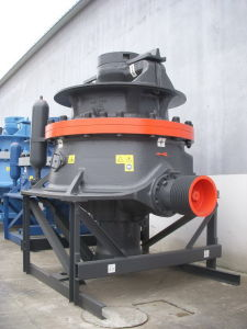 High Output Capacity Single-Cylinder Hydraulic Cone Crusher Gpy500 pictures & photos