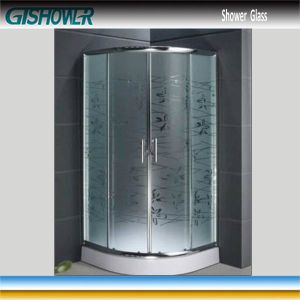 Tempered Shower Glass (Acid No 1) pictures & photos