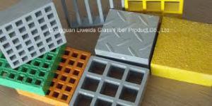 Anti-Corrosion FRP Pultruded Grating and FRP Handrail, FRP Pultruded Profiles