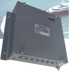Nmea0183 Distributor for Ocean-Going Vessels, 1 Inputs to 8 Outputs