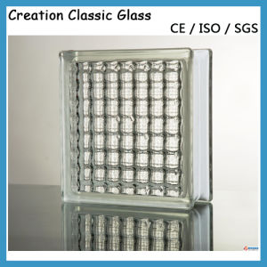 190*190*80mm Crystal Parallel Glass Block with Ce pictures & photos