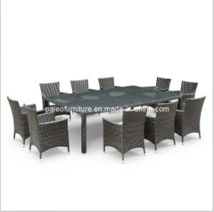 Garden Rattan Dining Table and Chair (PAD-1103)