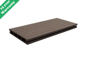 2016 New Designed Outdoor Wood Plastic Composite/WPC Decking Boards pictures & photos