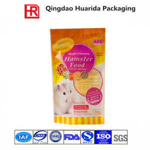 Cusomized and Printed Plastic Pet Food Bag with Clear Window pictures & photos
