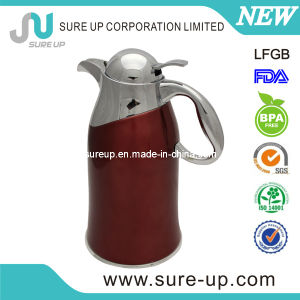 Arabesque Stainless Steel Glass Liner Hot &Cold Water Jug pictures & photos