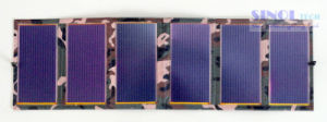 5.1V/600mA Thin Film Amorphous Silicon Flexible Solar Bag Charger pictures & photos