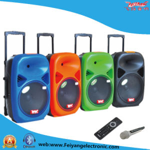 "15"" Single Multi-Colored Mobile Battery Speaker F28 pictures & photos"