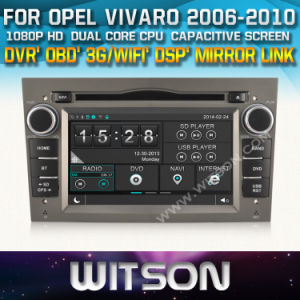 Witson Auto Radio GPS for Opel Vivaro (W2-D8828L) pictures & photos