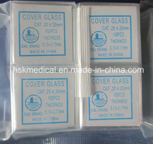 Cover Glass 20X20mm, 100PCS/Box pictures & photos