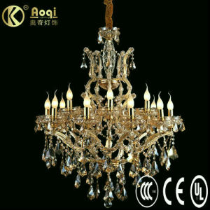 Luxury Crystal Chandelier Lamp (AQ01202-10+5+1) pictures & photos