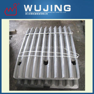 Wear Resistant Part Professional Design High Manganese Steel Cast Metso Jaw Plate
