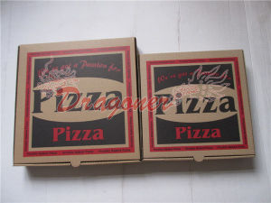 Locking Corners Pizza Box for Stability and Durability (CCB019) pictures & photos